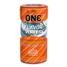 Подарочная упаковка презервативов ONE FlavorWaves 12 шт.